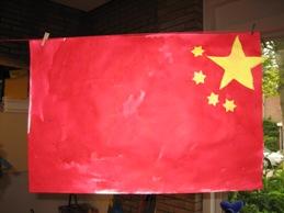 China - Maken rode verf ...