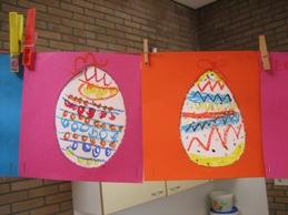 Kunst op een ei - Versieren van een smalle gang ...