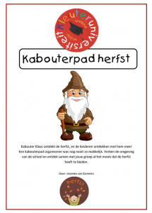 Kabouterpad herfst
