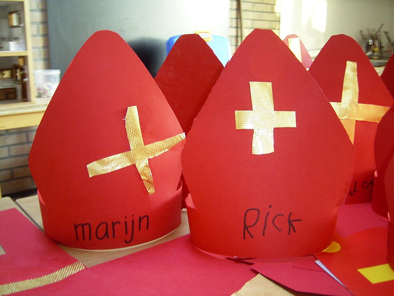 Jufjanneke Nl Een Hoedje Voor Sinterklaas