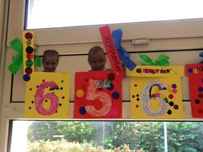 verjaardagskalender maken eerste leerjaar