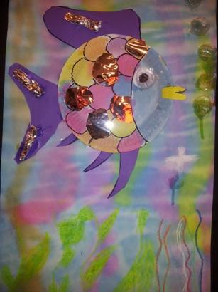 Kleurplaten Regenboogvis.Jufjanneke Nl De Mooiste Vis Van De Zee