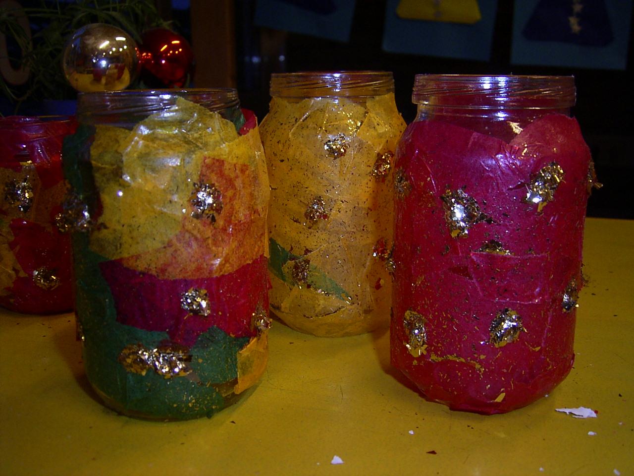jufjanneke.nl - Kerstlichtjes maken