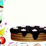 Versier de taart